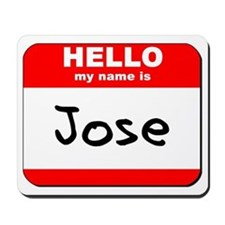 Hello my name is Jose Mousepad