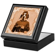 St. Bernard LEFTY Keepsake Box