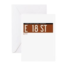 18th Street in NY Greeting Cards (Pk of 10)