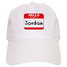 Hello my name is Jordan Baseball Cap