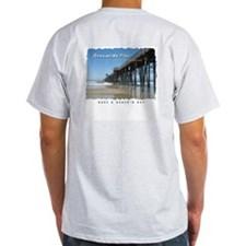 Oceanside Pier (Art 2 sides) T-Shirt
