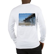 Oceanside Pier (Art 2 sides) Long Sleeve T-Shirt