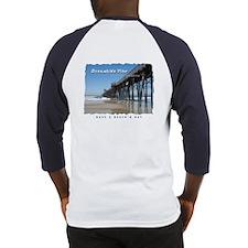 Oceanside Pier (Art 2 sides) Baseball Jersey