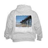 Oceanside Pier (Art 2 sides) Sweatshirt