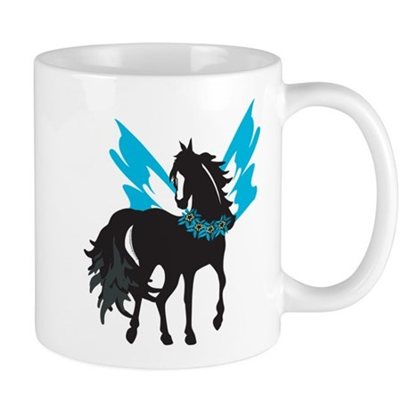 Winged Steed w/Lei Mug