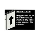 Psalm 137:9 Rectangle Magnet