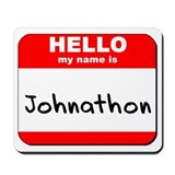 Hello my name is Johnathon Mousepad