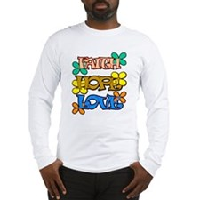 faith hope and love Long Sleeve T-Shirt