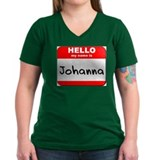 Hello my name is Johanna Shirt