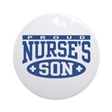 Proud Nurse's Son Ornament (Round)