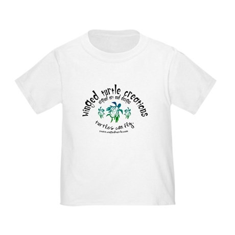 Winged Turtle Logo Toddler T-Shirt