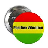 Rasta Positive Vibration 2.25&quot; Button (10 pack)