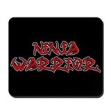 Ninja Warrior Mousepad