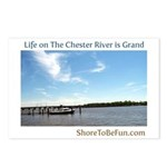 On The Chester River Postcards (Package of 8)