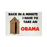 TAKE AN OBAMA Rectangle Magnet