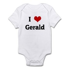 I Love Gerald Onesie