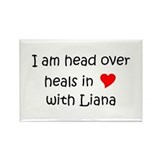 Unique I love liana Rectangle Magnet (100 pack)