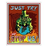 Try and Stop U.S. Poster