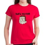 Santa Claus Women's Dark T-Shirt