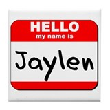 Hello my name is Jaylen Tile Coaster