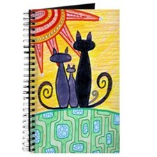 Sunrise Cats Journal