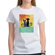 Sunrise Cats Tee