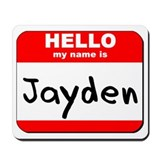 Hello my name is Jayden Mousepad