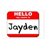 Hello my name is Jayden Postcards (Package of 8)
