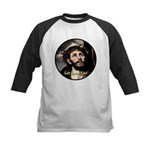 God Loves You! Kids Baseball Jersey