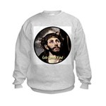 God Loves You! Kids Sweatshirt