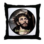 God Loves You! Throw Pillow