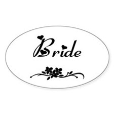 Classic Bride Decal