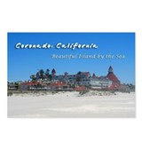 Coronado, Beautiful Island by the Sea Postcards (P