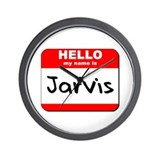 Hello my name is Jarvis Wall Clock