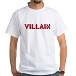 Villain White T-Shirt