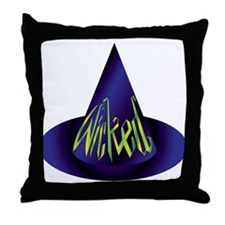 Wicked Witch Hat Throw Pillow