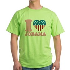 i Love Jobama iHeart T-Shirt