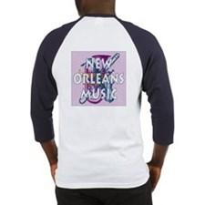 Purple New Orleans Music #2 Baseball Jersey