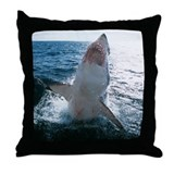 High Flyer Sharks Throw Pillow