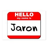Hello my name is Jaron Postcards (Package of 8)