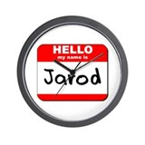Hello my name is Jarod Wall Clock
