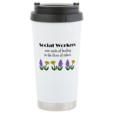 Seeds of Healing Ceramic Travel Mug