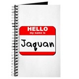 Hello my name is Jaquan Journal