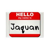 Hello my name is Jaquan Rectangle Magnet (10 pack)