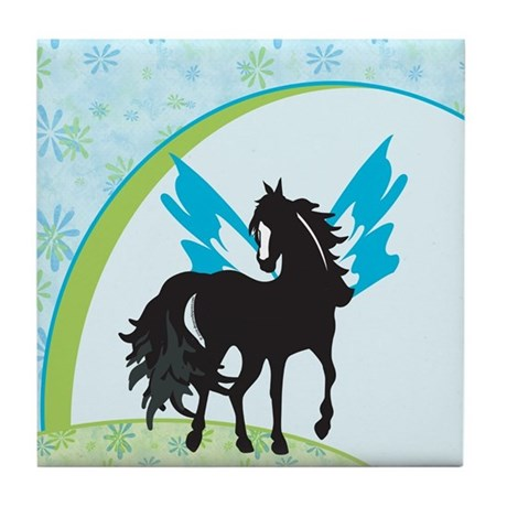 Winged Steed Tile Coaster