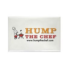 Hump The Chef Rectangle Magnet