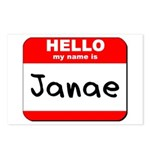 Hello my name is Janae Postcards (Package of 8)