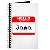 Hello my name is Jana Journal