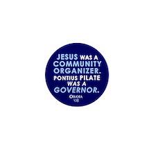 Jesus Community Organizer Mini Button