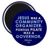 Jesus Community Organizer Magnet